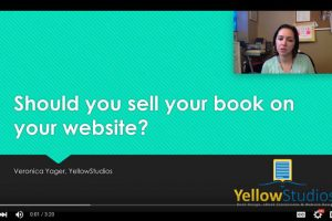 Should you sell your book on your website?