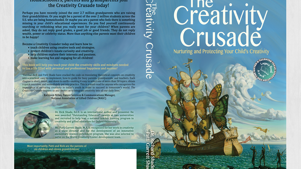 Full Print Cover for The Creativity Crusade