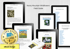 Rocky Mountain Wildflowers - Gold - First Place Award for Ebook Design